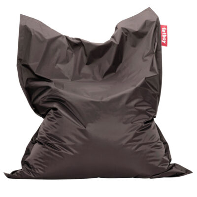 The Original dark grey Fatboy bean bag