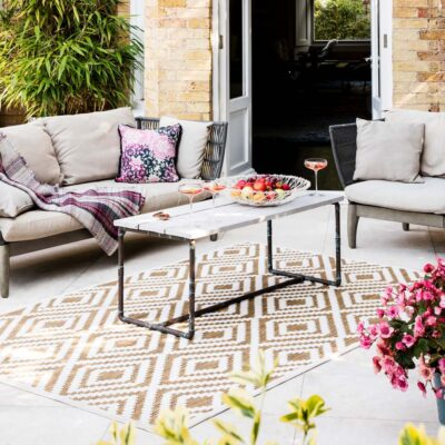 Plaza Ivory rug by asiatic carpets