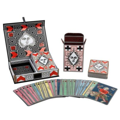 Poker face playing card by Christian Lacroix