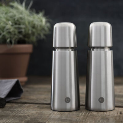 Stockholm Stainless Steel salt pepper grinder