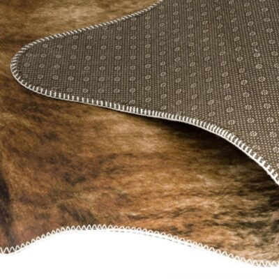 Texas Faux Cowhide Brown rug by Asiatic carpets