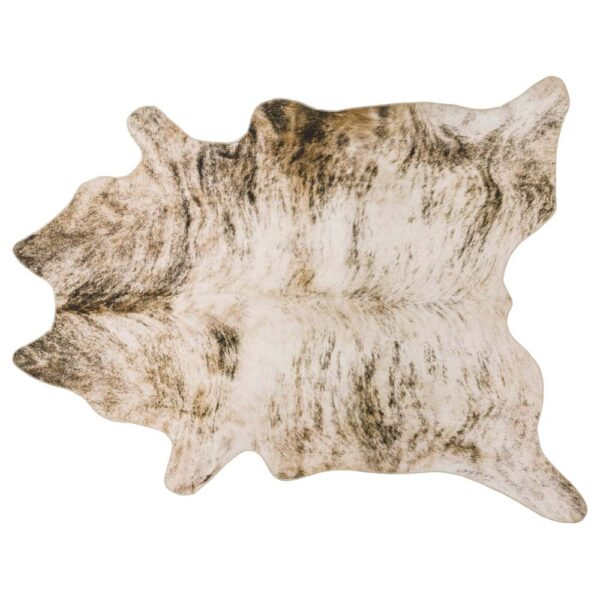 Texas Faux Cowhide Grey rug by Asiatic carpets