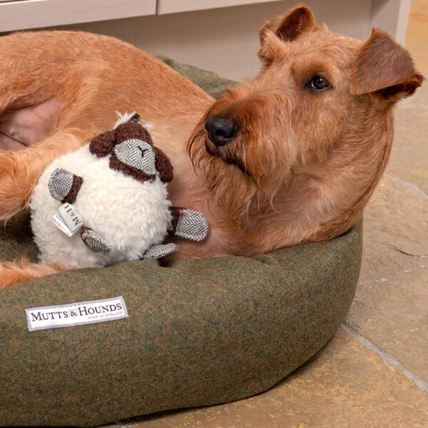 dog Toy sheep by Mutts & Hounds