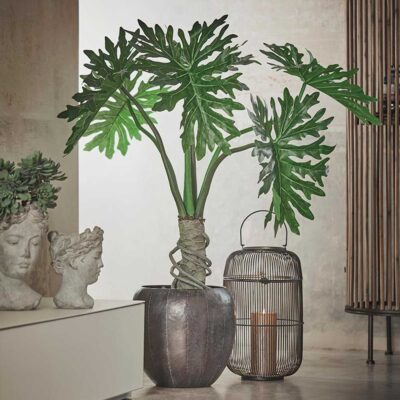 artificial plant philodendron
