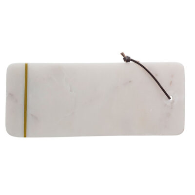 cutting board white marble by Bloomingville