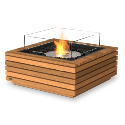ecosmart fire base 30 fire pit table teak