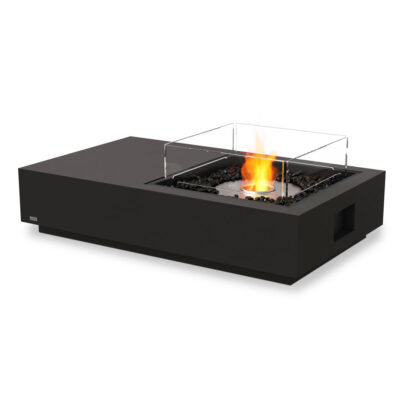 ecosmart fire manhattan 50 fire pit table black