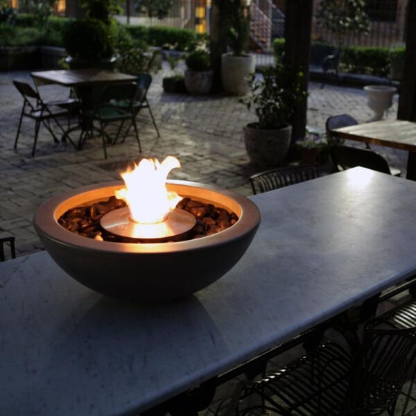 ecosmart fire mix600 fire pit bowl