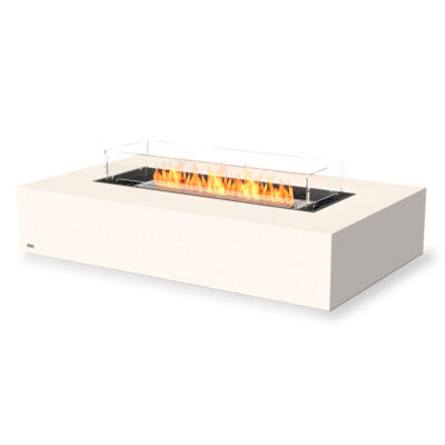 ecosmart fire wharf 65 fire pit table white