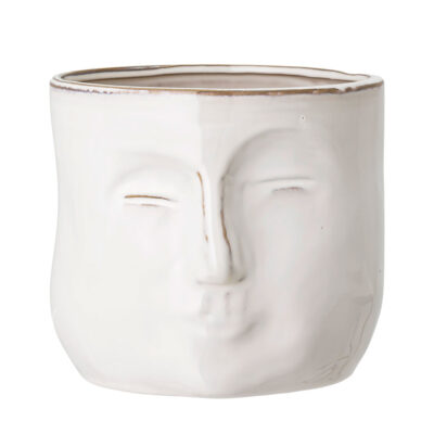 flowerpot face by Bloomingville