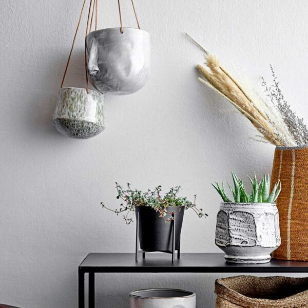 flowerpot hanging green by Bloomingville