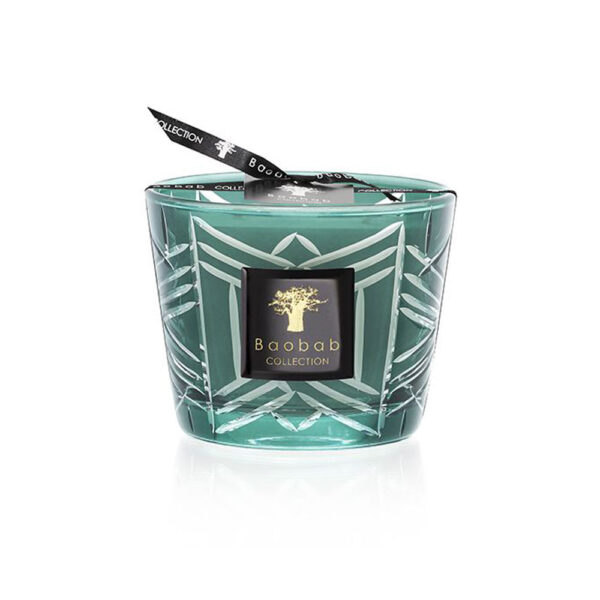 Christmas green candle by baobab