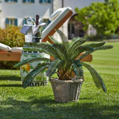 sago palm artificial plant h72