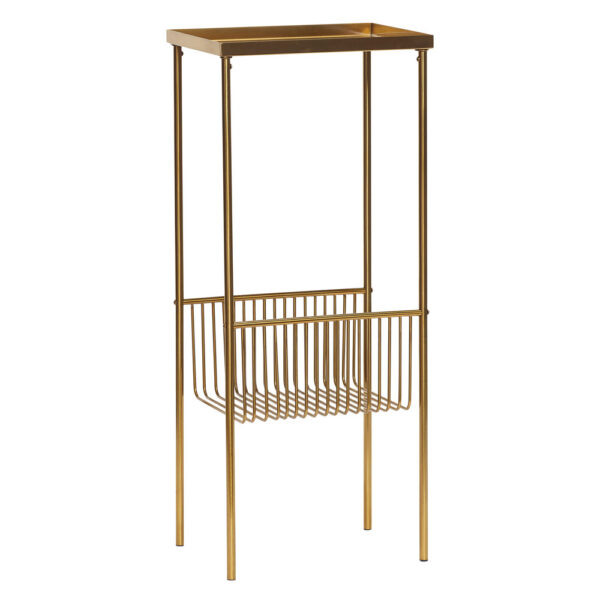 Brass Metal Console Table by Hubsch