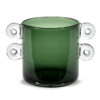 Green Glass Vase by Serax