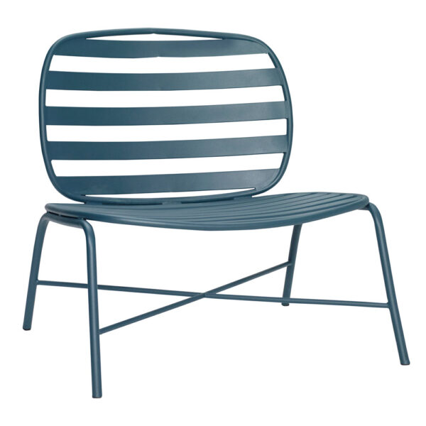 Green Metal Garden Lounge Chair by Hubsch