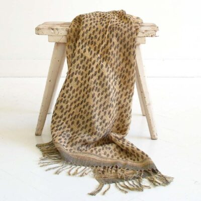 Jaguar throw by ML Fabric