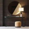 Lyssa marble console Table by Laskasas