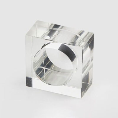 Napkin square crystal