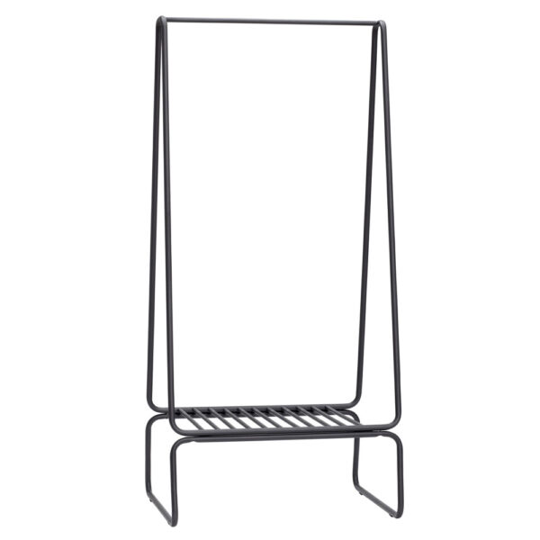 Narrow Metal Clothes Rack by Hubsch