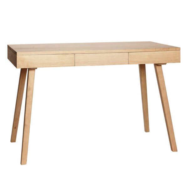 Oak Desk with Drawers by Hubsch