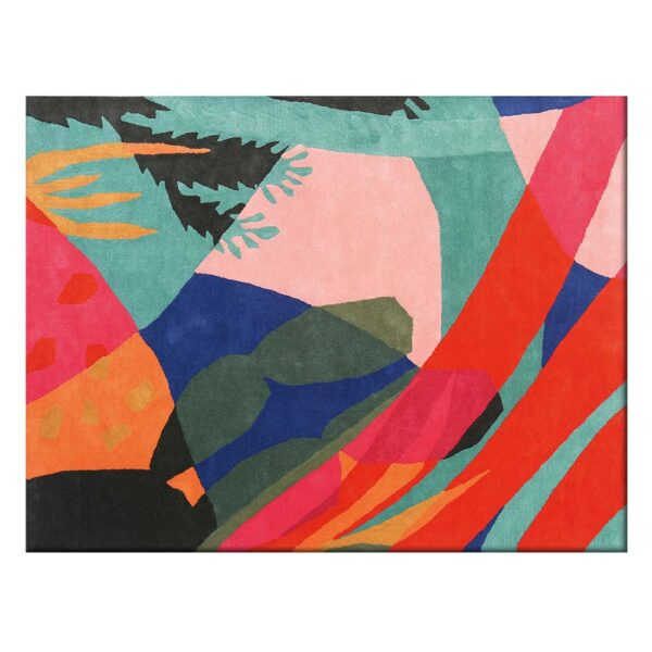 Oaxaca multicolour rug by Toulemonde Bochart