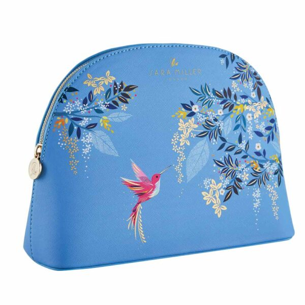 Sara Miller Large Cosmetic Blue bag