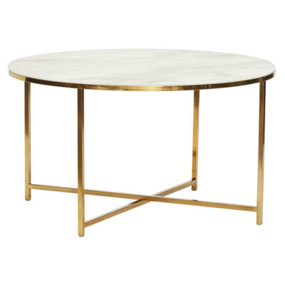 White round Coffee Table by Hubsch