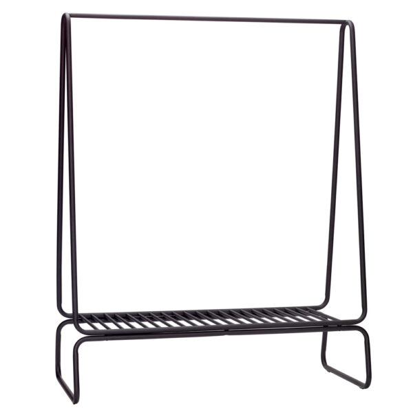 Wide Metal Clothes Rack by Hubsch