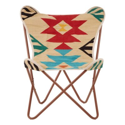 alder multicoloured butterfly chair