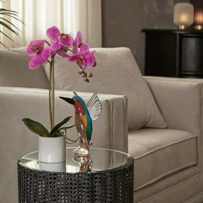 artificial moth orchid fuschia h40