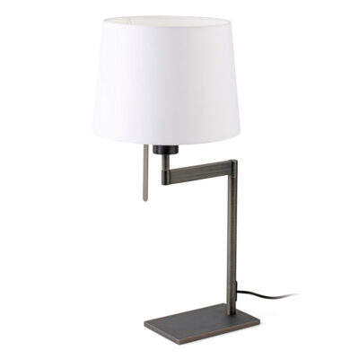 artis bronze table lamp by Faro