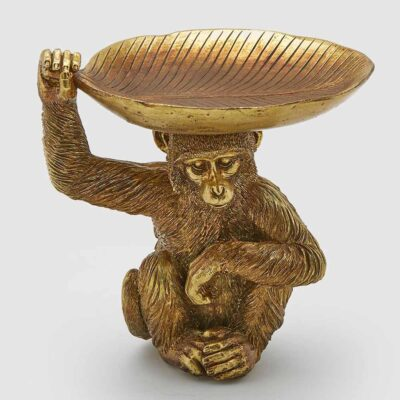 gold monkey decoration