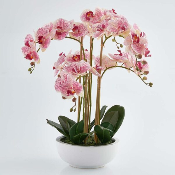 luxury pink artificial orchid