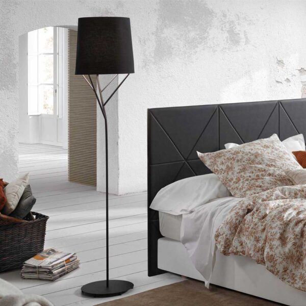 tree black floor lamp 60W by faro
