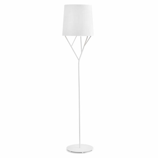 tree white floor lamp 60W by faro
