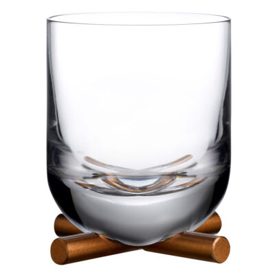 Camp SOF Whisky Glass with brass base by Nude