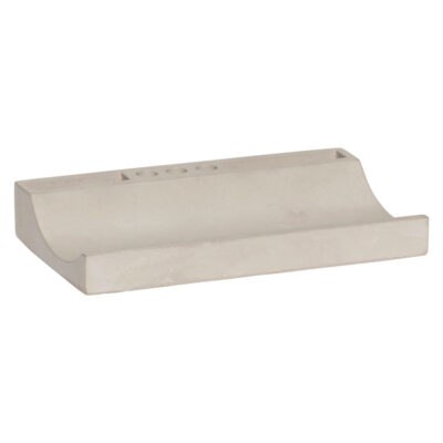 Desk organiser concrete by Hubsch