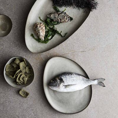 Dinner Plate Mame Beige by Muubs
