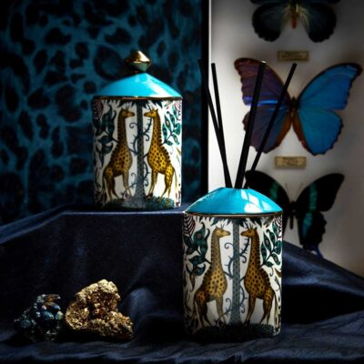 Kruger Diffuser with Giraffes by Emma J Shipley