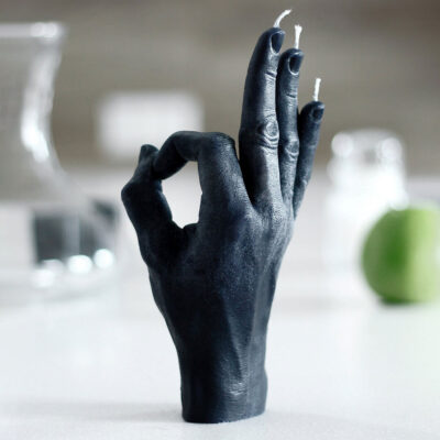 OK black hand candle