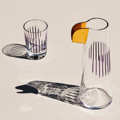 Parrot Water Carafe Clear by Nude