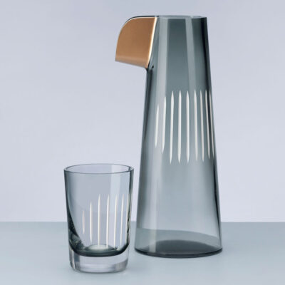 Parrot Water Carafe Smoke by Nude
