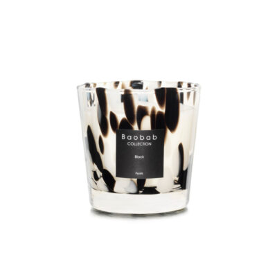 Candle Pearl Black Max One by Baobab Collection
