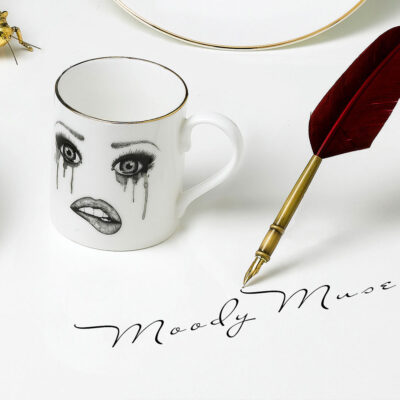 Poet Mug by Lauren Dickinson Clarke