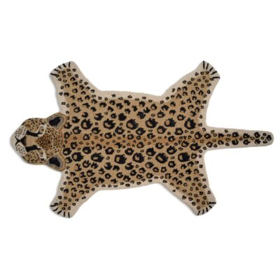 Rug Leopard Natural by Classic Collection