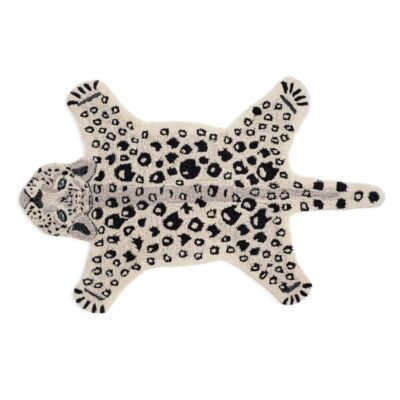 Rug Leopard White by Classic Collection