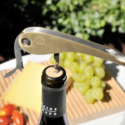 Corkscrew Soft Machine Brass by L'Atelier du Vin