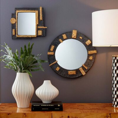 osaka accent mirror square by Jonathan Adler