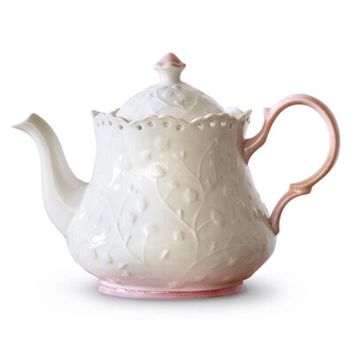 Candy White teapot by Neavita
